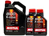 Motoröl Motul 8100 X-Cess 5W40, 7 Liter (1 x 5 l + 2 x 1 l)