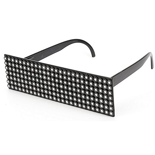 Xiuxiushop Sonnenbrillen Herren Punk Style personalisierte Mode Party dekorative Gläser