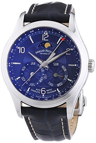 armand-nicolet-hommes-de-montre-automatique-avec-cadran-bleu-affichage-analogique-et-bracelet-en-cui