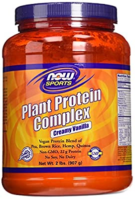 NOW Foods Plant Protein Complex Creamy Vanilla 2 lb by Now Foods