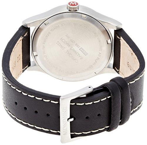 Mondaine Herren-Uhren Quarz Analog A669.30308.14SBB - 2