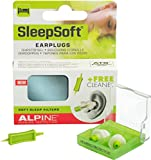 Alpine SleepSoft 2015 - Earplugs for Sleeping & Snoring, Free Cleaner