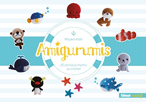 Amigurumis: 20 animaux marins au crochet