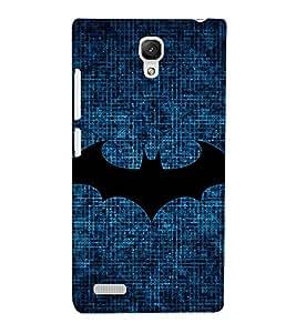 EPICCASE dark knight Mobile Back Case Cover For Xiaomi Redmi Note (Designer Case)