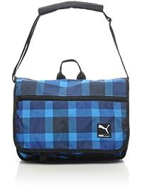 d03c8c4bb PUMA Bolso bandolera, Umhängetasche Foundation Shoulder Bag - Karo, azul -  brilliant blue-