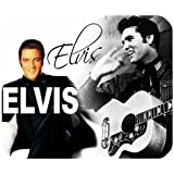 Elvis Presley Mouse Pad, Mouse Mat, Rubber Mouse pad (220mm*180mm*3mm)