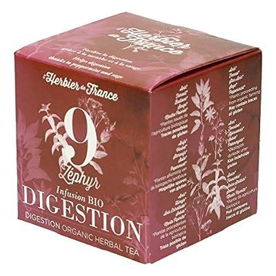 NutriSensis Digestion grâce au Fenouil/à la Réglisse Infusions 20 Sachets 32 g - Lot de 3