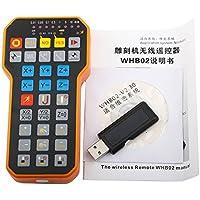 Su-luoyu Graviermaschine Wireless Handle HB02 Fernbedienung Komfortable Cutter Paar Graviermaschine Zubehör Wireless Handrad 1pcs