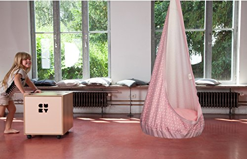 "Hängesessel Kinderzimmer Hängehöhle ""RelaxMe"" für Kinder (Pink)"