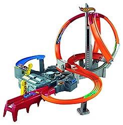 Hot Wheels Mattel Cdl45 - Mega-crash Superbahn