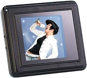 Somikon Digitales Mini-Fotoalbum mit Farb-LCD-Display (3,8 cm)
