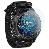 Bruni Garmin Tactix Bravo Film Protecteur - 2 x cristal clair Film Protection d'écran Protecteur d'écran pour Garmin Tactix Bravo