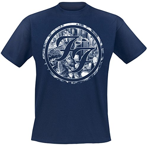 Foo Fighters Sonic Highways - City Circles T-Shirt blu XXL