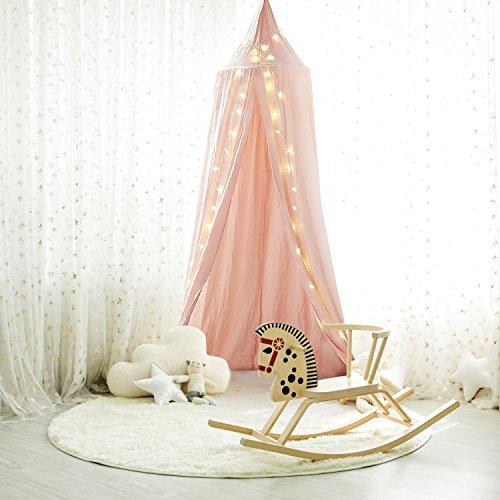 Shayson Princess beerenstrauch bedacht Kids Moskito Familien Zelt hausrat Kids spielen Zelt für Kinder Zimmer hanging verzieren (rosa)