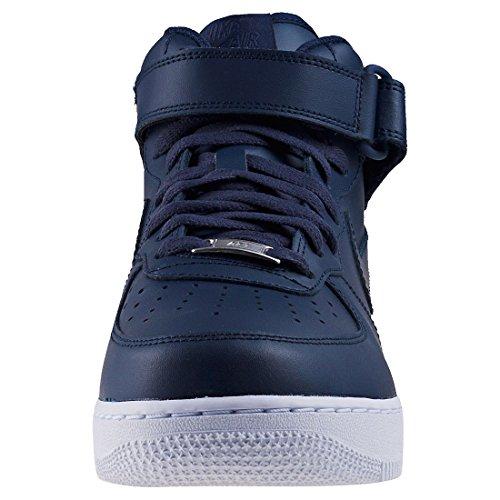 Nike Air Force 1 (Gs) 314195 Scarpe Sportive da Bambini E Ragazzi Blu marino