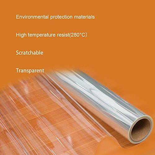 Hoho pellicola protettiva 4mil trasparente lucida adesiva protezione antigraffio per mobili - Pellicola adesiva per mobili ...