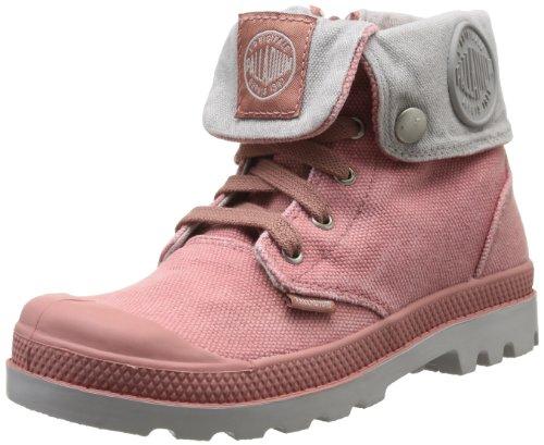 Palladium Baggy Zipper K, Boots mixte enfant Rose (911/Old Rose/Vapor)