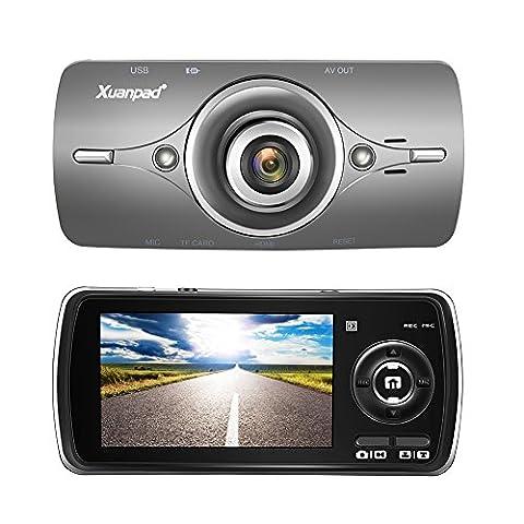 Xuanpad Dash Cam Full HD 1080P in Car Camera Blackbox DVR Dashboard with 2.7