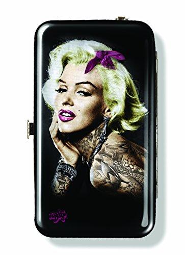 Spoontiques Wallet Schutzhülle für iPhone 4; iPhone 5; iPhone 5S, iPhone 6; Samsung Galaxy S5-Marilyn Monroe Tattoo Telefon Wristlet (S5-tattoo-fall Galaxy)