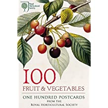 100 Fruit & Vegetables from the RHS: 100 Postcards in a Box (Postcards Boxset) by Royal Horticultural Society (2-Apr-2015) Cards