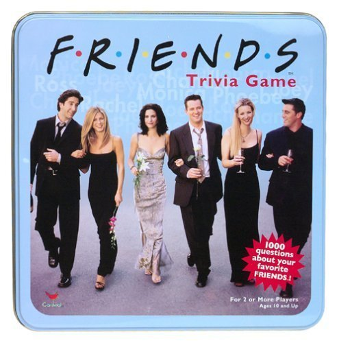 Click for larger image of Friends Trivia Game. Collector's Edition 1000 Questions Plus 200 Never Before Seen Questions