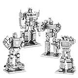 Transformers Metal Earth 3D Bausätze : Alle 4 Modelle