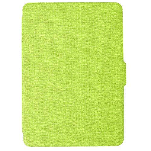 Oyfel Schutzhülle für Kindle Ereader Displayschutzfolie, aus PU-Kunststoff, Grün