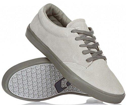 Globe Skateboard Schuhe Lighthouse Mid Grey - Skate Shoes Sneaker, Schuhgrösse:41, Farbe:Mid Grey (Skateboard Globe Schuhe)