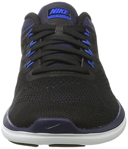 Nike Flex 2016 Rn, Chaussures de Tennis Homme Noir (Black / Soar / Binary Blue / White)