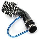 Universal Car Automobile Racing filtro de admisión de aire Kit de tubo de aluminio Cable de corriente de alta potencia cono de malla deportiva