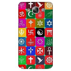 Mobo Monkey Designer Printed Back Case Cover for Samsung Galaxy E5 (2015) :: Samsung Galaxy E5 Duos :: Samsung Galaxy E5 E500F E500H E500Hq E500M E500F/Ds E500H/Ds E500M/Ds (Hindu :: Muslim :: Sikh :: Christian :: Religion)