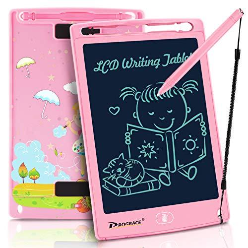 PROGRACE LCD Writing Tablet LCD-Schreibtablett für Kinder Lernen Schreibtafel Magnetic Erase LCD-Schreibunterlage Smart Doodle Zeichenbrett Tragbare Elektronik Digitale Handschrift Pads