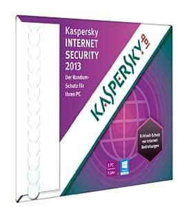 Kaspersky Internet Security 2013 3 Lizenzen (Frustfreie Verpackung)