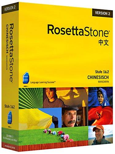 Rosetta Stone v2 Chinesisch Level 1&2 Set (PC+MAC)