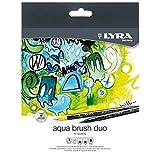 Lyra 6521360 - Pack de 36 rotuladores con punta pincel y punta fina