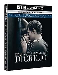 Cinquanta Sfumature di Grigio (Versione Cinematografica + Versione Estesa) (Blu-Ray 4K UltraHD + Blu-Ray)