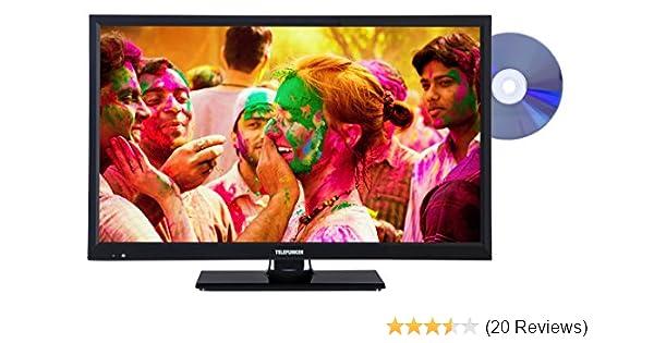 Telefunken L24H180I3D 61 cm (24 Zoll) Fernseher (HD Ready, Triple ...
