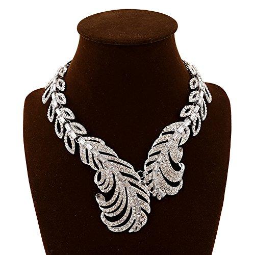 SaySure - Gold imitation Diamond fashion chunky
