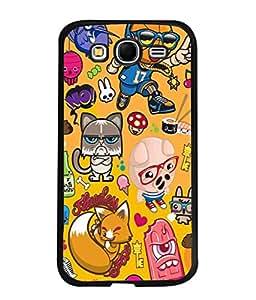 PrintVisa Designer Back Case Cover for Samsung Galaxy Grand Neo I9060 :: Samsung Galaxy Grand Lite (Flawless fox Crazy boy)