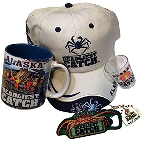 Deadliest Catch Survival of the Luckiest Coffee Mug and Khaki