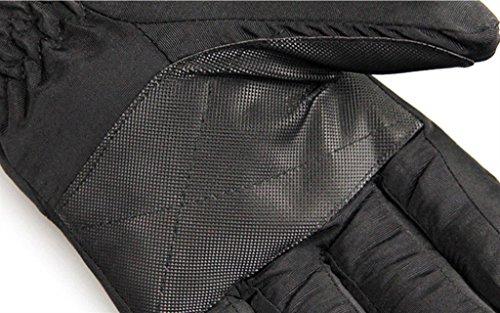 moto Garder au chaud des gants Pour des hommes imperméable Windproof Du froid Riz Garder au chaud des gants ski des gants C