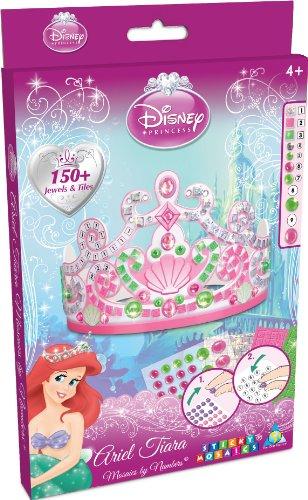 The Orb Factory Sticky Mosaics Disney Princess Airel Tiara ()