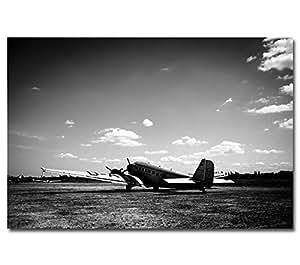 Poster -- Tante Ju -- Junkers JU 52 Flugzeug Dessau Hugo Junkers Industriedesign