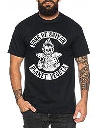 92606b81ab5e WhyKiki Planet Vegeta T-Shirt pour Homme One Goku Dragon Master Son Ball  Vegeta Turtle