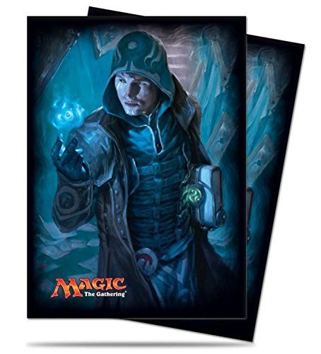 Magic: the Gathering - Jace Unraveler of Secrets Shadows Over Innistrad SOI MTG Sleeves (80 Count) Deck Protectors by Ultra Pro Shadow Protector