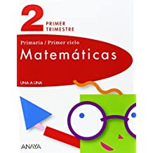 Matemáticas 2. Primer Ciclo. I, II, III Trimestre (UNA A UNA)
