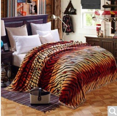 BDUK Double-Thick Raschel komprimieren Decke Studenten und Betten mit warmen Winter romantische Hochzeit Decken Decken,E,200*230cm/9 Catty