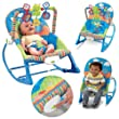 Baby Unisex Musical Rocker Bouncer Chair Infant to Toddler Vibration by Generic