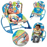 Best Baby Swing And Bouncers - Baby Unisex Musical Rocker Bouncer Chair Infant to Review