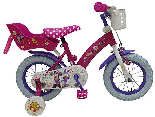 12 Zoll Fahrrad Minnie Mouse Stahlrahmen Kinderfahrrad Disney Minni Maus 31226